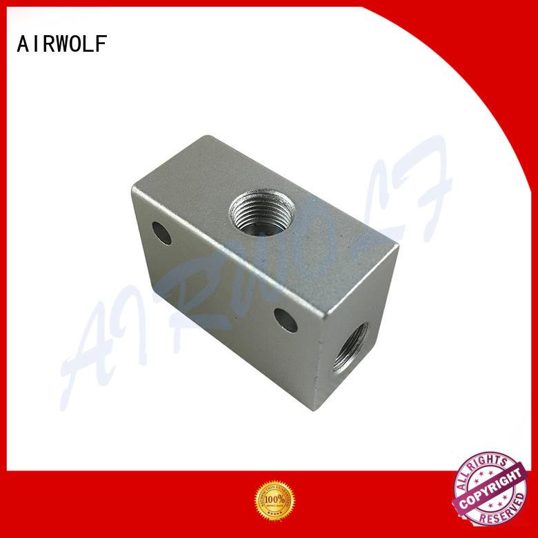AIRWOLF high quality pneumatic push button valve inlet bulk production
