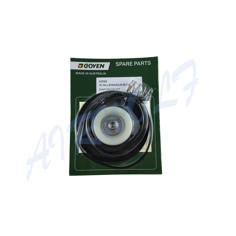 Goyen type RCAC25T3 RCAC25FS3 RCAC25DD3 RCAC25FH3 Pulse valve Diaphragm Repair Kits K2529 Nitrile / K2530 Viton-1