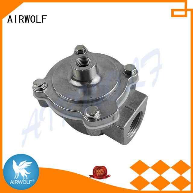cast die pulse motor valve right AIRWOLF company