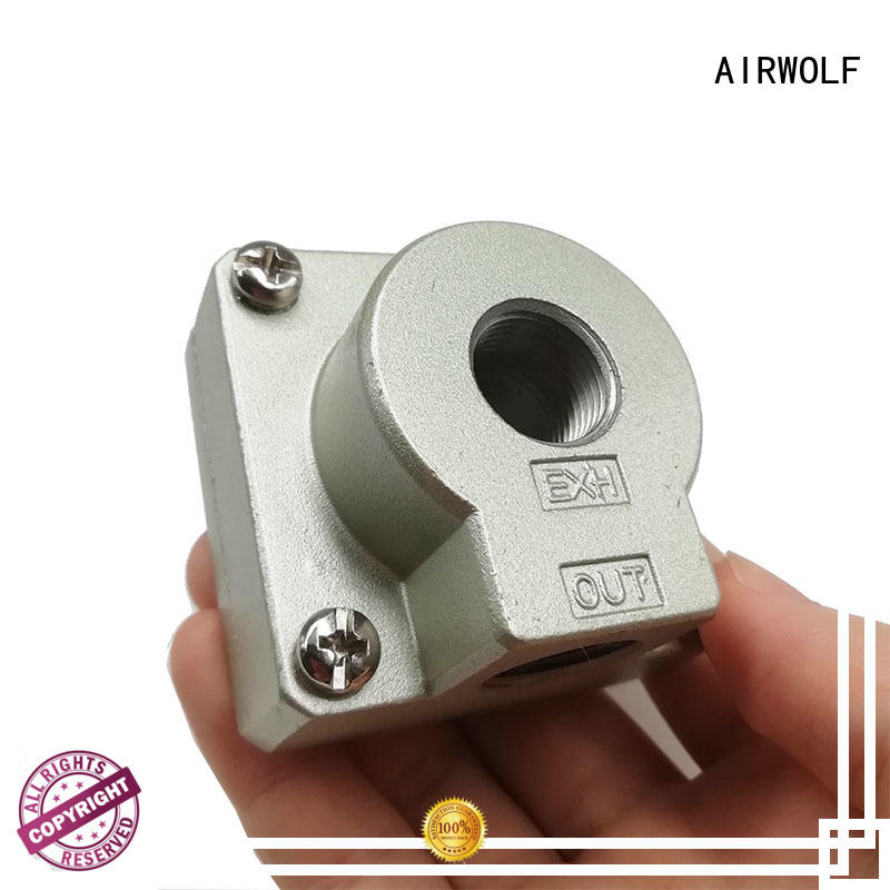 AIRWOLF silver air flow control valve Sentinel for CAB