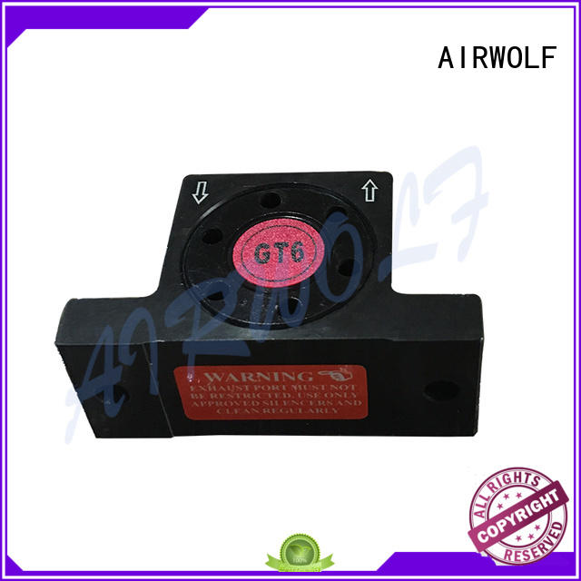 AIRWOLF black pneumatic vibrator cushioned for wholesale