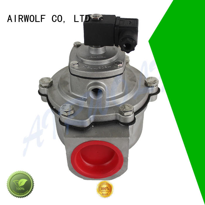 slivery double air pulse valve AIRWOLF Brand