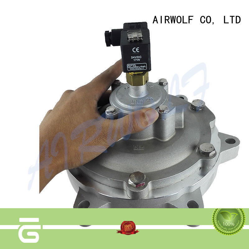 controlled pulse valve function colse air